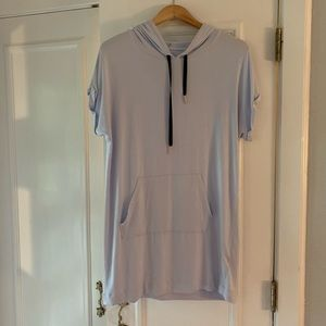Beyond Yoga light blue sweatshirt dress. Size s